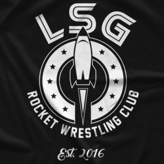 Rocket Wrestling Club T-shirt