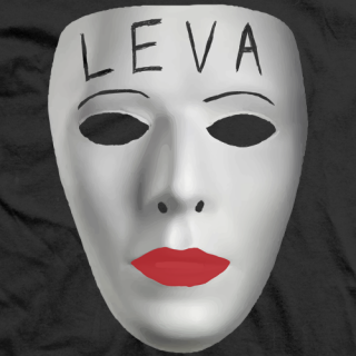 Leva Bates Leva Mask T-shirt