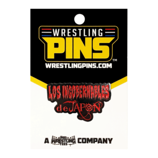 NJPW - Los Ingobernables De Japon Red Wrestling Pin