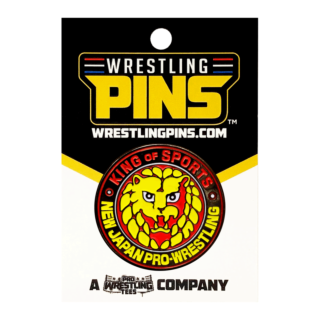 NJPW Collectors Pin: Lion Mark