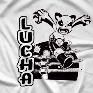 Lucha Panda T-shirt