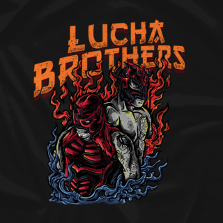 Lucha Brothers Flames