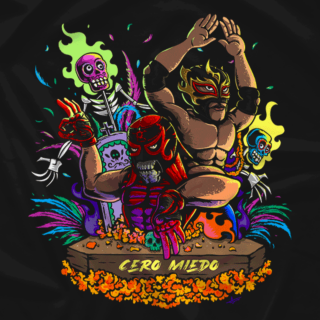 Lucha Bros - Day of the Dead