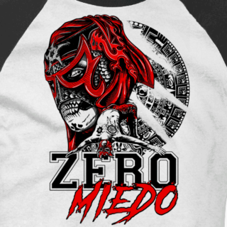 Zero Miedo Baseball Tee (Double-Sided)