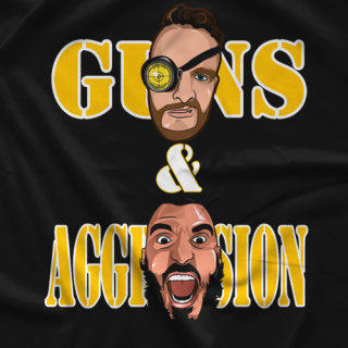 Guns and Aggression T-shirt