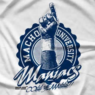 Randy Savage Macho U Maniacs T-shirt