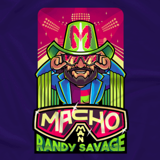 Macho Man Cartoon