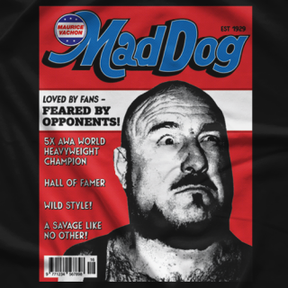 Mad Dog Vachon Magazine shirt