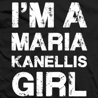 I'm A Maria Kanellis Girl T-shirt