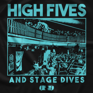 Mark Andrews High Fives and Stage Dives T-shirt