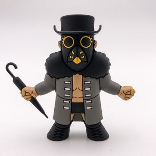 Marty Scurll (Mask Variant) Micro Brawler Figure