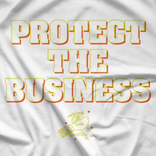 Protect The Biz 2 White T-shirt