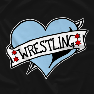 Chicago Wrestling Heart (Available in 2 Colors!)