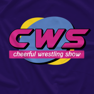 Cheerful Wrestling Show Circle (Available in 2 Colors!)