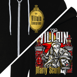 Headless Villain Zip Hooded Sweatshirt