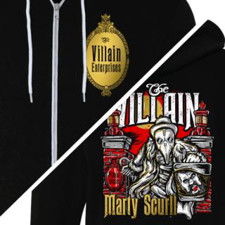 Headless Villain Zip Hooded Sweatshirt