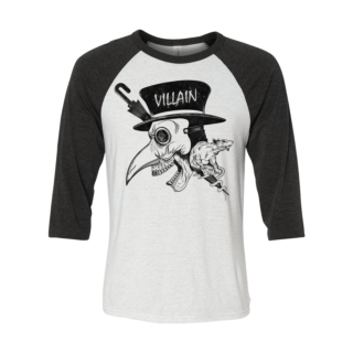 Villain Baseball T-shirt