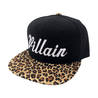 *Limited Edition* Villain Cheetah Print Snapback Hat