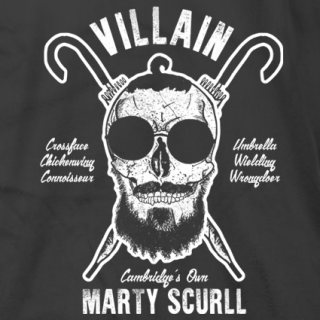 Scurll and Crossbones Black