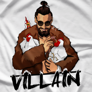 Marty Scurll Marty With Chickens T-shirt