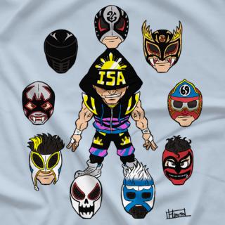 TJP One Man, Many Masks