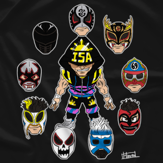 MR Throwback: TJP - One Man, Many Masks (Black)