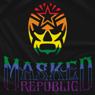 Masked Republic Pride (Profits To Charity)