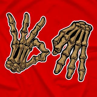 Cero Miedo Skeleton Hands - SF Colorway