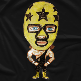 Masked Superstar CaricatureT-shirt