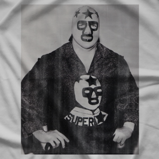 Masked Superstar Portrait T-shirt