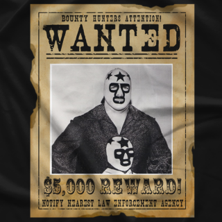 Masked Superstar Wanted T-shirt