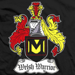 Mason Ryan Welsh Warrior T-shirt