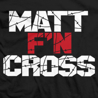 Matt F'N Cross T-shirt