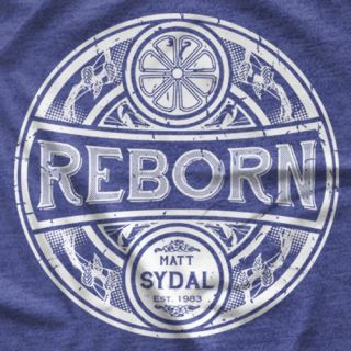 "- Clotheslined Apparel - Vintage Blend Soft T-shirt Matt Sydal ""Reborn"""