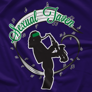 Matt Taven Sexual Taven Purple T-shirt