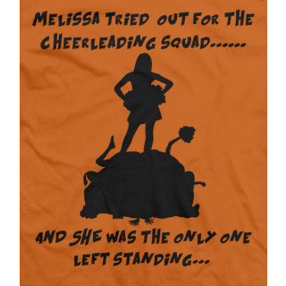Melissa Tried Out....