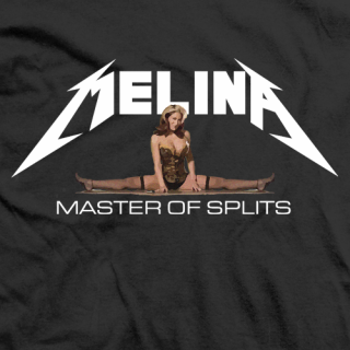 Melina Master of Splits T-shirt