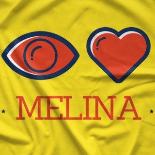 Eye Heart Melina T-shirt