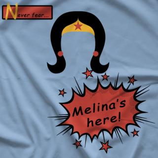 Melina Never Fear T-shirt
