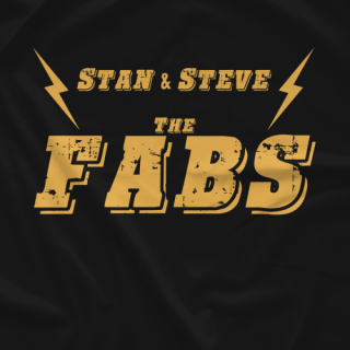 Stan & Steve: The Fabs - Black & Gold