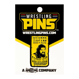 Mick Foley - Wanted Poster Wrestling Pin