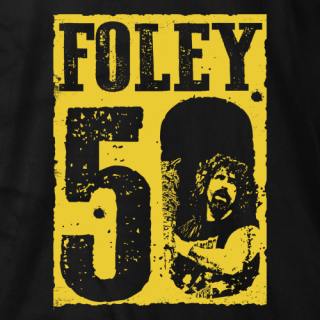 Mick Foley 50 T-shirt