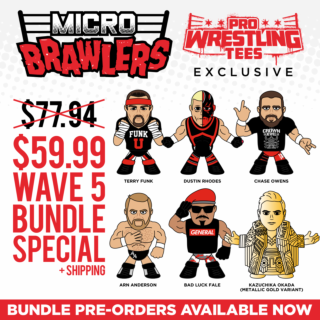 Micro Brawler Wave 5 Bundle - 6 Figures (Only 200 Sets Available)