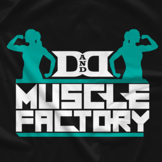 Miss Diss Lexia D&D Muscle T-shirt