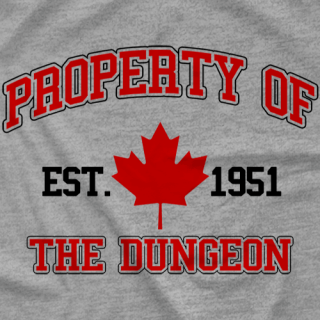 Property of the Dungeon Gym Shirt
