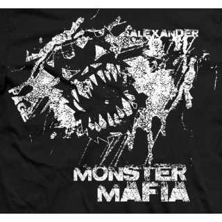 Ethan Page Monster Mafia Logo T-shirt