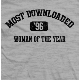 Most Downloaded T-shirt