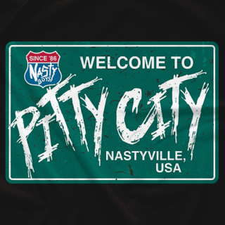 Nasty Boys - Welcome To Pitty City T-shirt