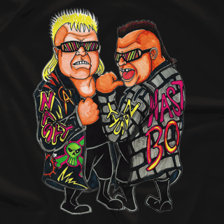 Nasty Boys - Drawn Nasty T-shirt
