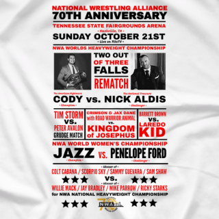NWA 70th Anniversary Card